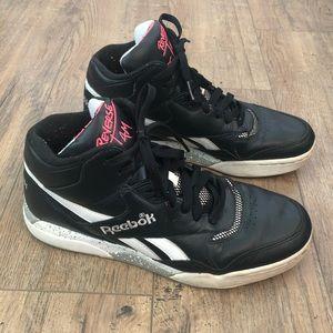 Reebok Reverse Jam Mid Black / White Sneakers